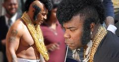 //mike tyson shirtless mr t costume rocky skit pp