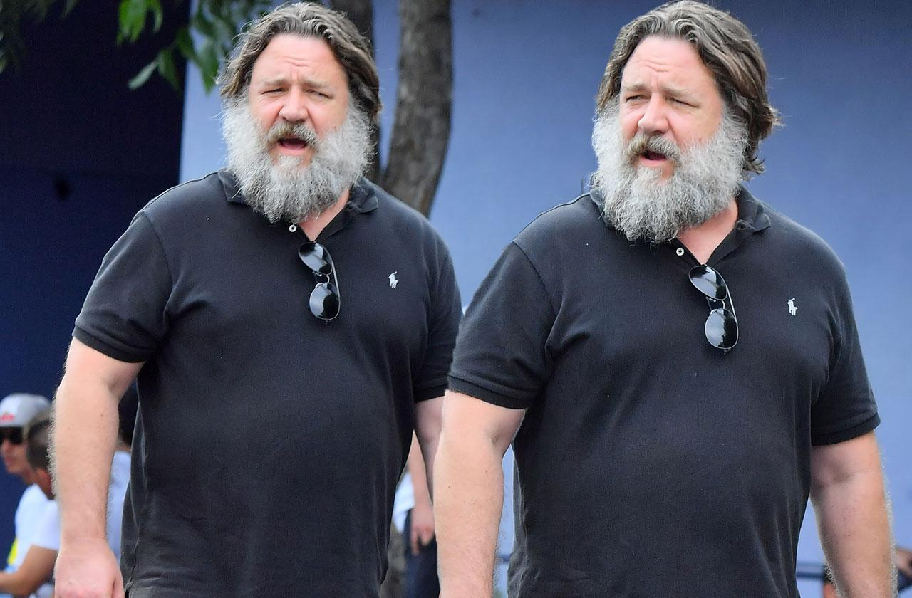 Russell Crowe Weight Gain Beard