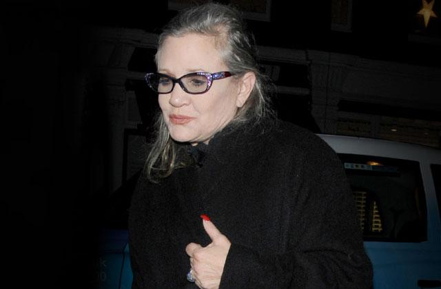 //carrie fisher heart attack family uncle horrible pp