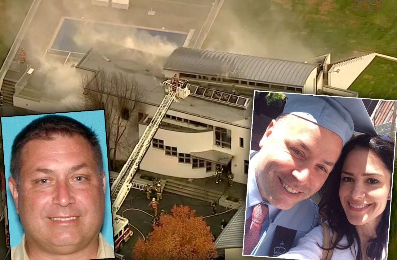 brother arrested new jersey mansion fire