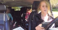 //leah messer texting driving pp
