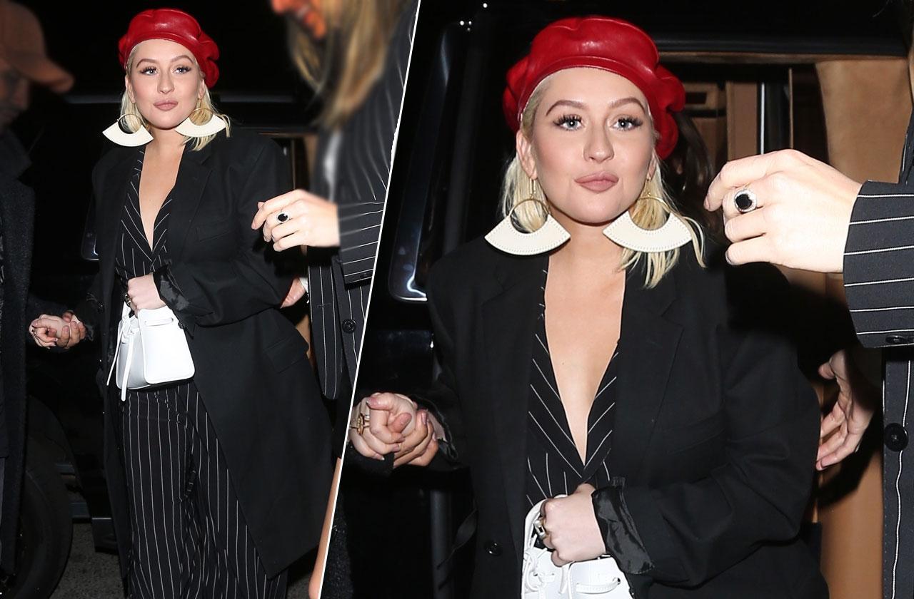 Christina Aguilera curvy body boobs photos