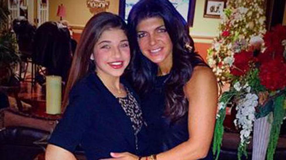 Gia Giudice and Teresa Giudice On New Year's Eve