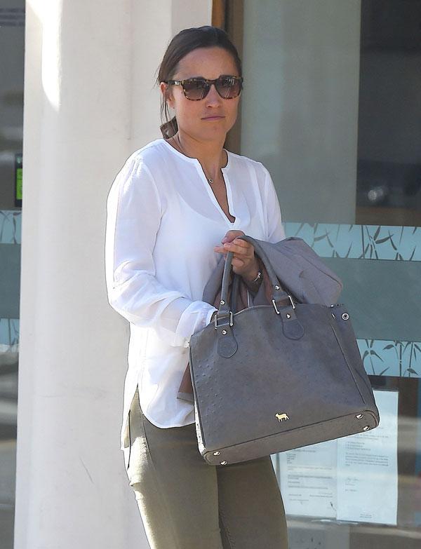 Pippa Middleton Shopping In London