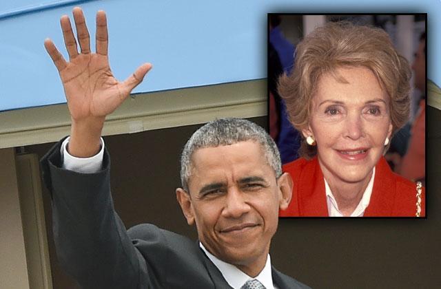 //president barack obama ditching nancy reagan funeral sxsw