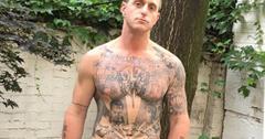 //cameron douglas prison release shirtless photos social media pp