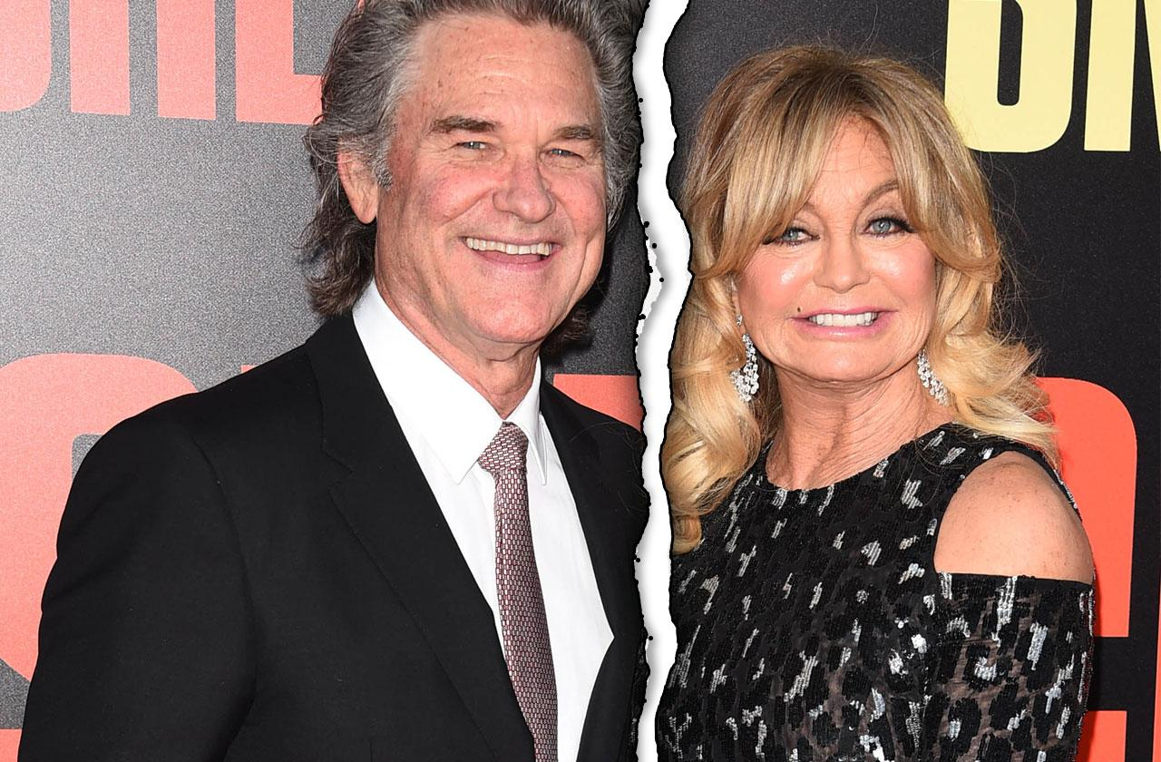 Kurt Russell & Goldie Hawn Separate Lives