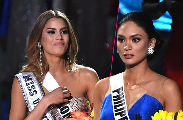 Miss Universe Pageant Miss Philippines Miss Colombia Haven't Spoken