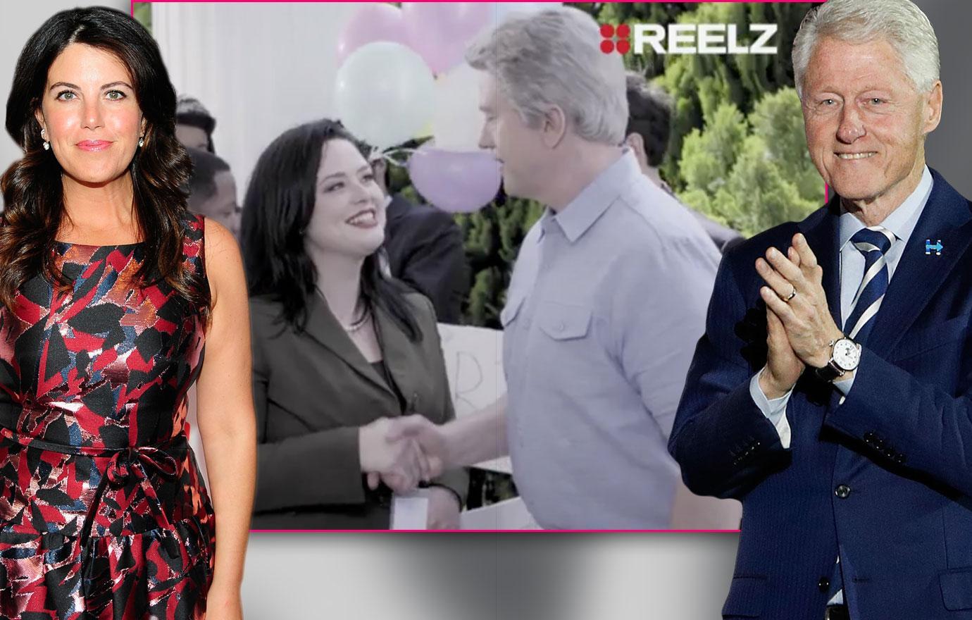 monica Lewinsky bill Clinton affair video