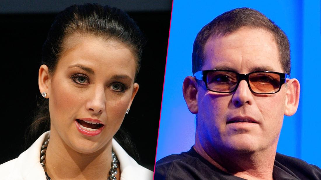 Mike Fleiss And Laura Kaeppeler Looking Angry
