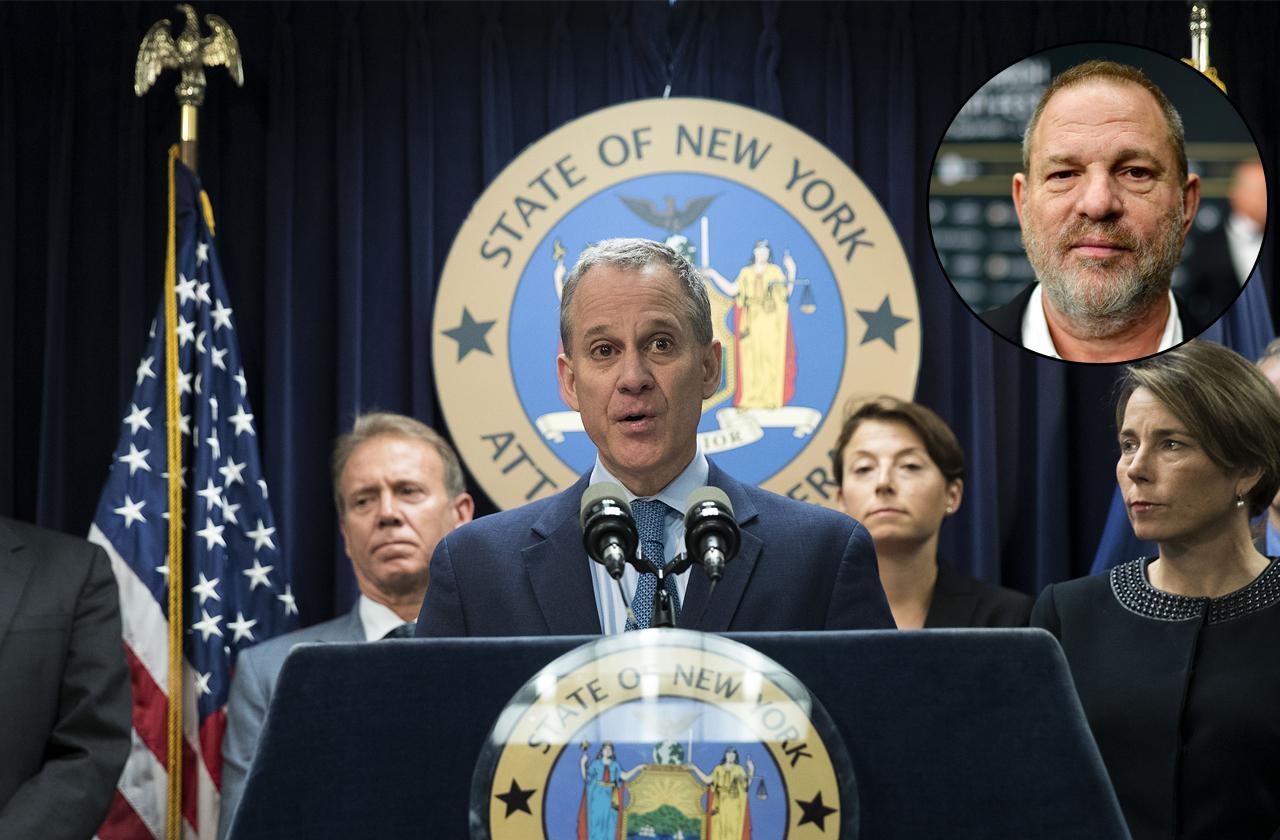 //harvey weinstein and weinstein company sued new york attorney general pp