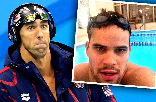 //basketball star kris humphries beat olympian michael phelps swimming pp