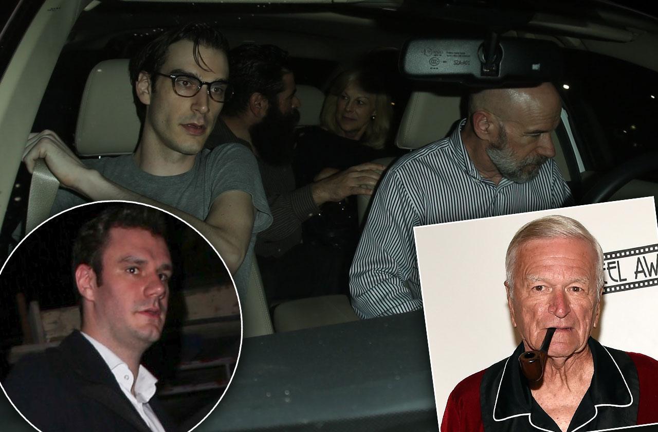 Hugh Hefner son family death