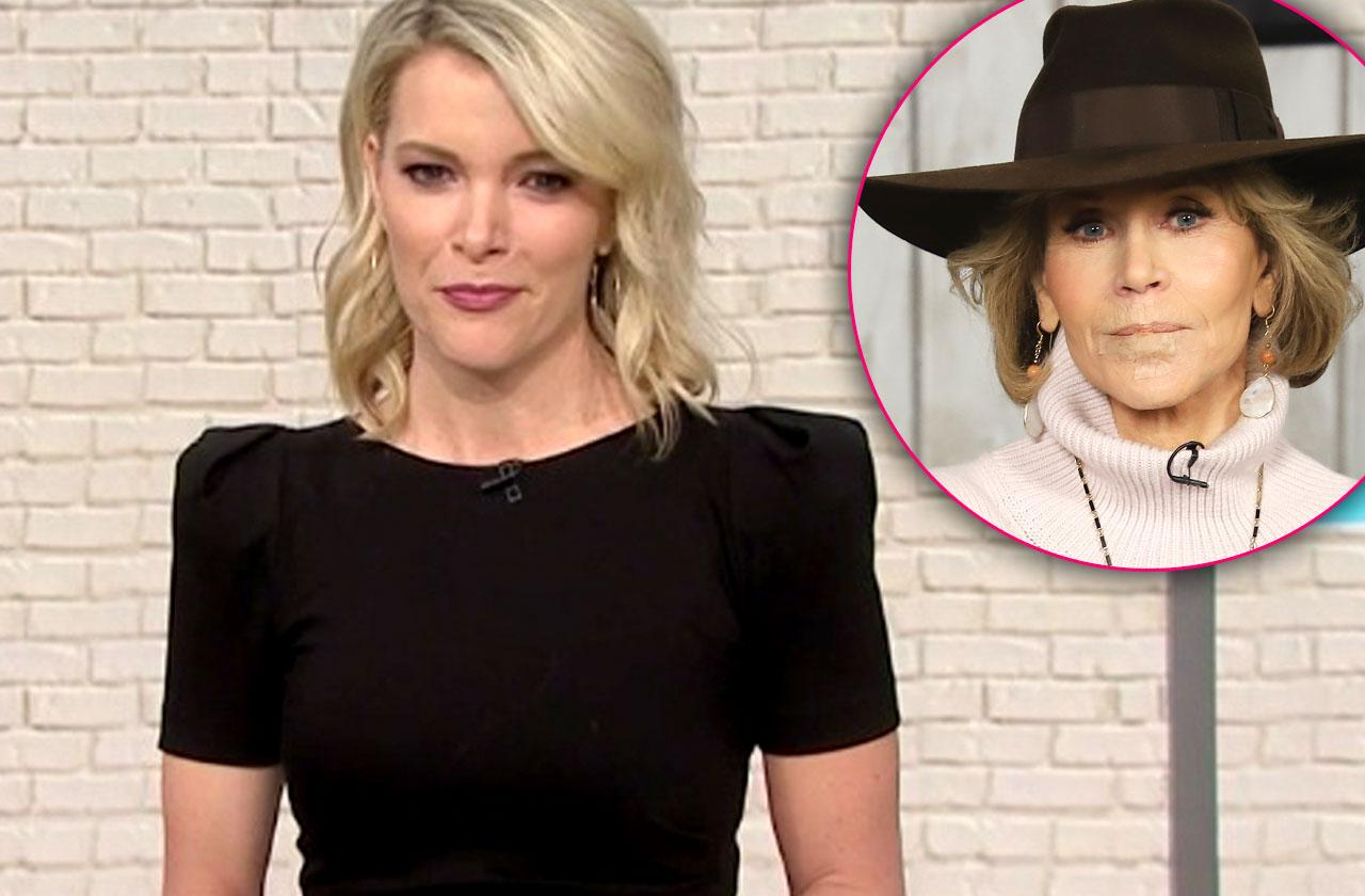//Megyn Kelly Bashes Jane Fonda Feud pp