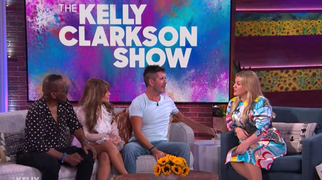 Kelly Reunites With 'American Idol' Judges On Her Show After Diss