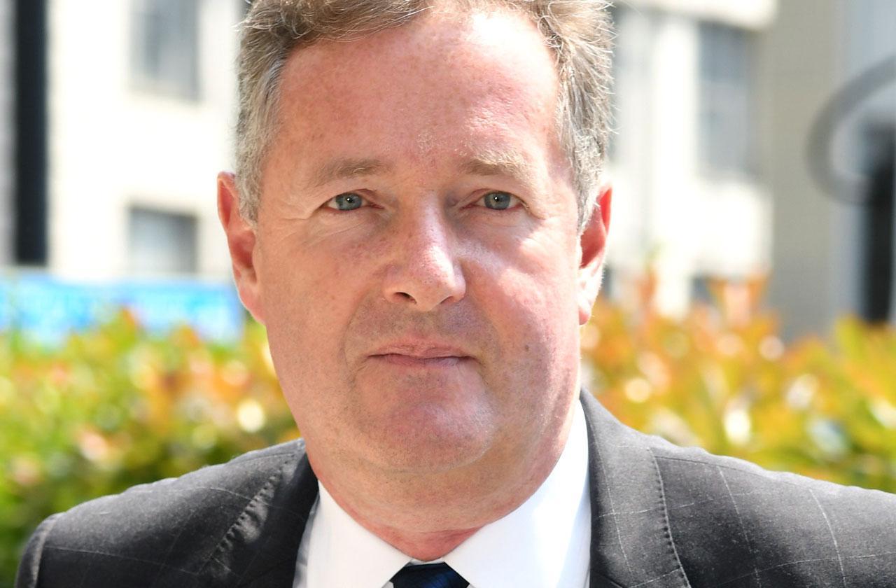 Piers Morgan Hospitalized Photo