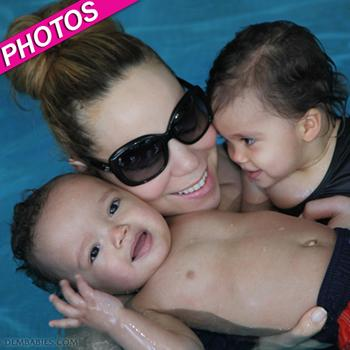 //mariah carey dembabies pool