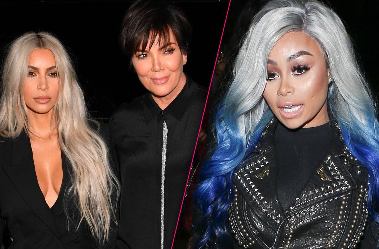 //blac chyna proof kris jenner kim kardashian killed spin off show pp
