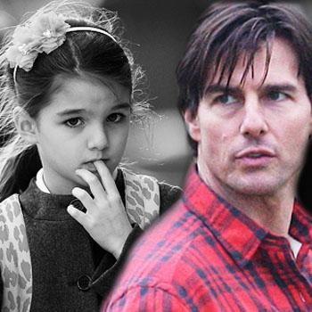 Suri Cruise - tom cruise-absent-Daughter-Suri-First-Day-School