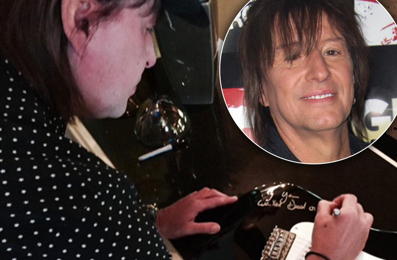 //share your gratitude this fathers day get a chance to win an autographed guitar from richie sambora pp