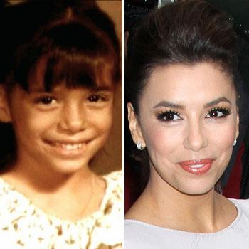 //eva longoria then now