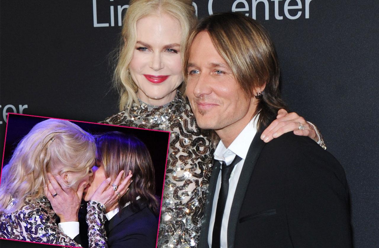 Nicole Kidman Keith Urban PDA Kiss