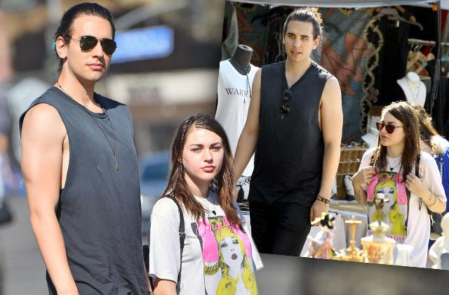 Frances Bean Cobain Divorce New Boyfriend Nick Simmons