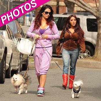 //snooki jwoww on location new jersey post