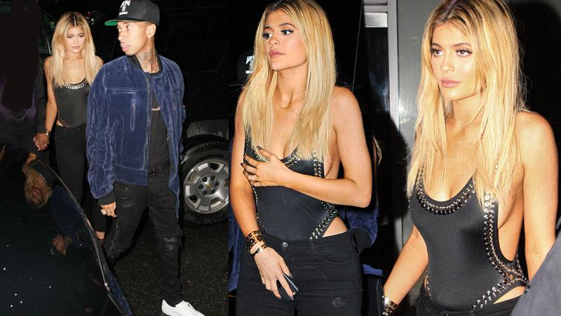 Kylie Jenner And Tyga Party At NYFW