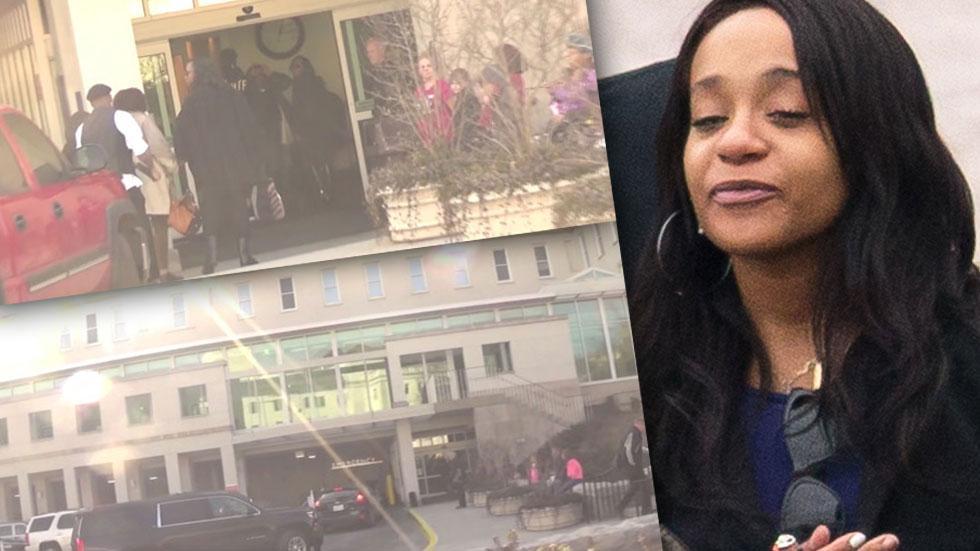 Bobbi Kristina Life Support Brown Houston Families Hospital