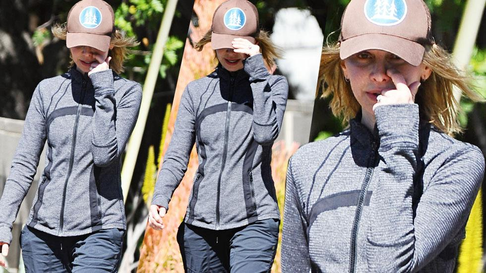 Calista Flockhart LA Walk Day Of Plane Crash