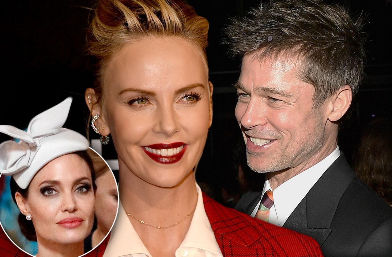 Brad Pitt Charlize Theron Dating Angelina Jolie