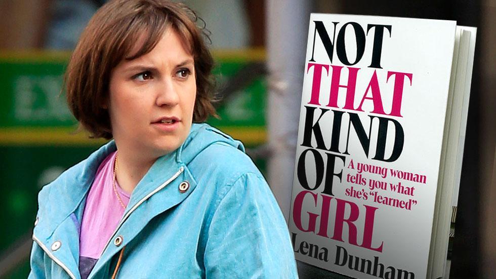 //lena dunham not that kind of girl scandal