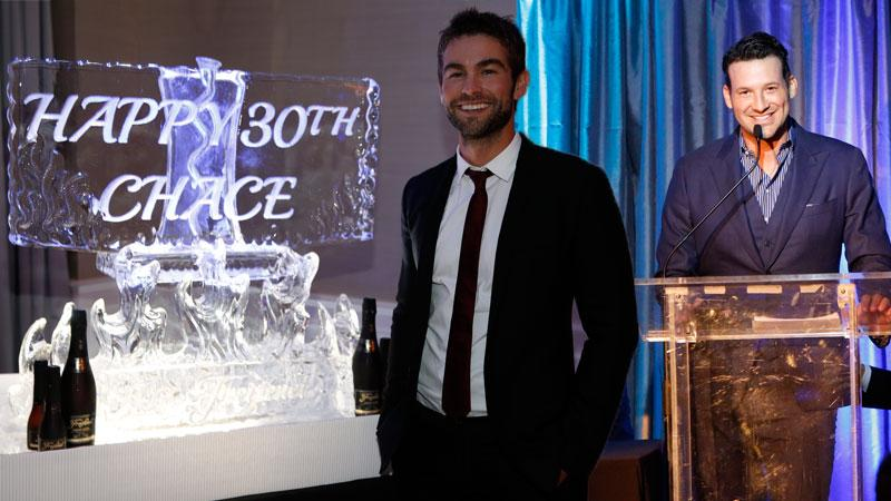 chace crawford 30th birthday party river virtual reality