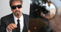 Al Pacino Going Blind Bandages Eyes
