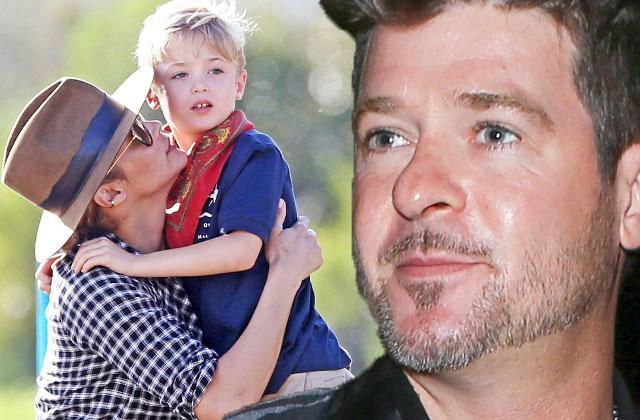 Robin Thicke Denied Son Visit Cops Called Paula Patton Custody Battle