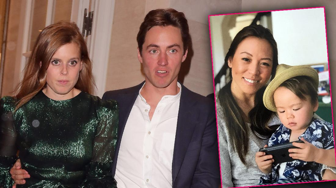 Princess Beatrice Fiance's Baby Mama Too Close To Him
