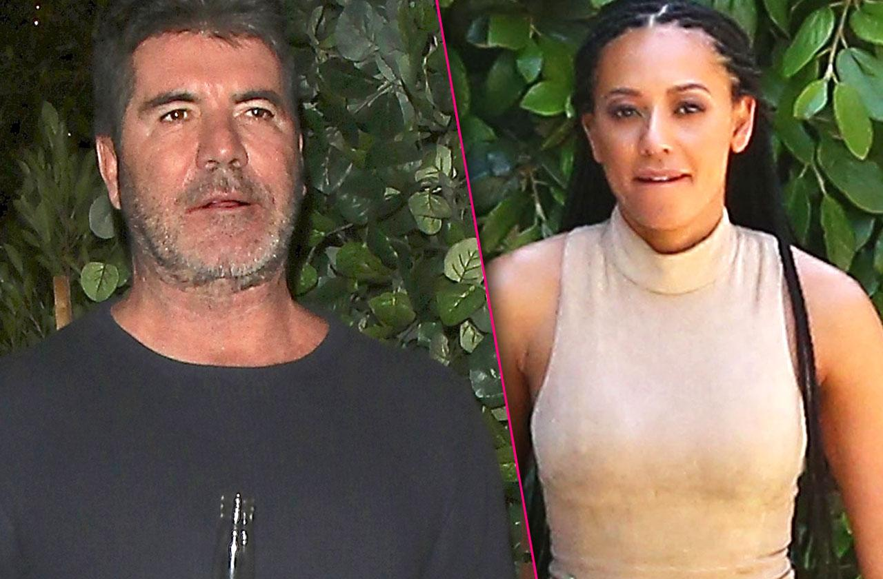//mel b simon cowell agt fight staged pp