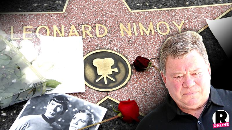 William Shatner Skips Leonard Nimoy Funeral