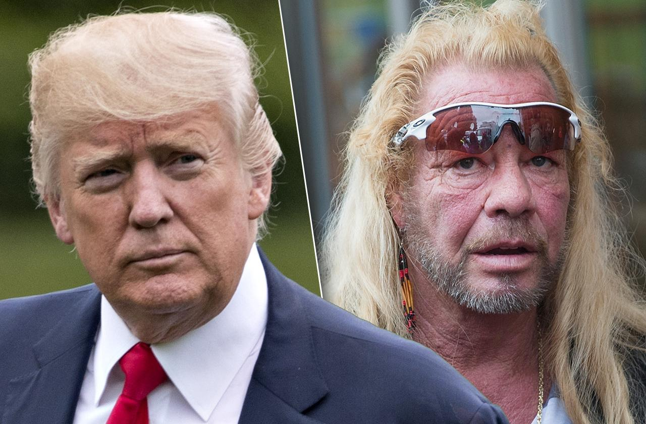 Dog Bounty Hunter Bail Reform President Trump