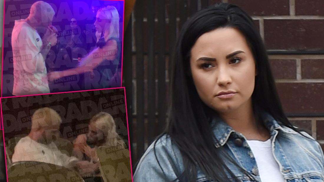 Demi Lovato Ex Caught With Mystery Blonde, Feeling Much Better After Split