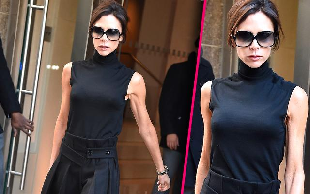 Victoria Beckham Skinny Arms NYC