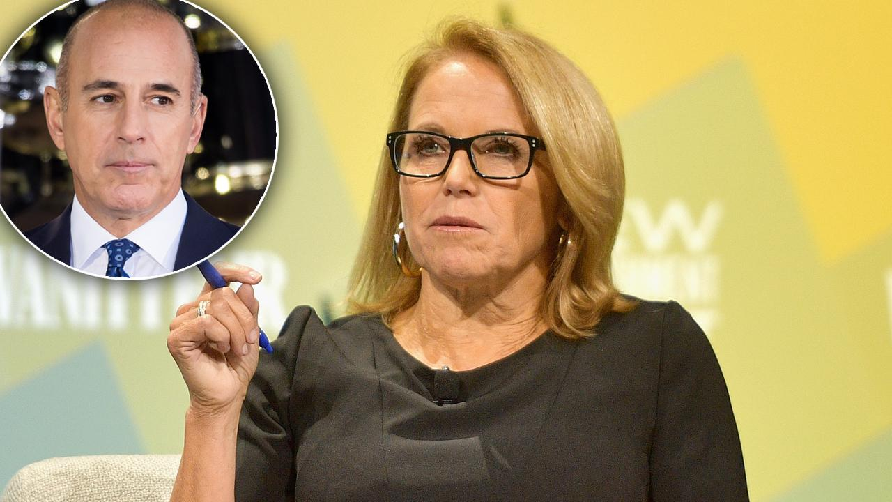 Katie Couric Penning Explosive Tell-All Book & Disgraced Sex Perv Matt Lauer Is 'Freaking Out'