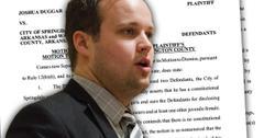 //josh duggar at war hometown officials sex molestation privacy lawsuit pp