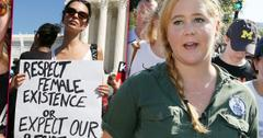 Amy Schumer Detained By Police For Protesting Kavanaugh Nomination