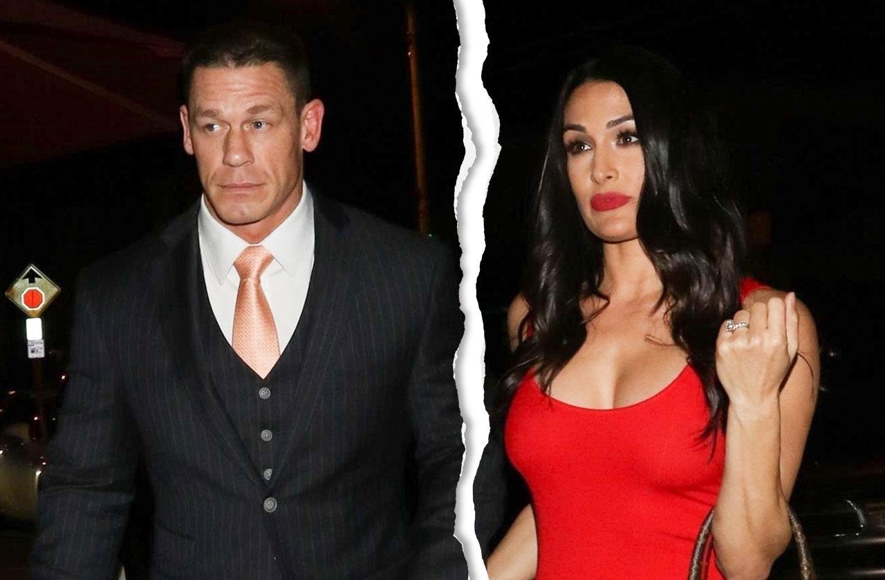 John Cena Nikki Bella Call Off Wedding Split