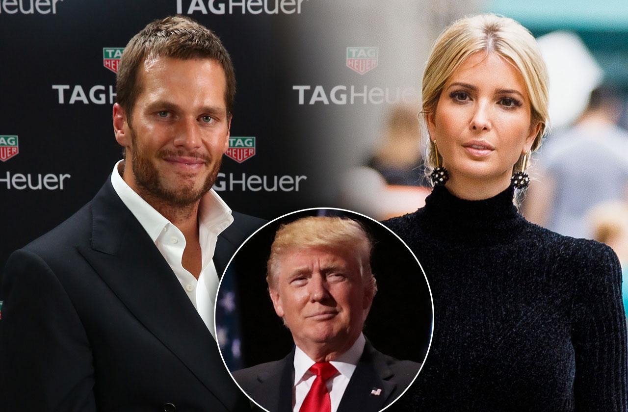 ivanka trump dating tom brady relationship donald trump