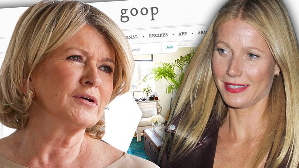 //martha stewart versus gwyneth paltrow goop