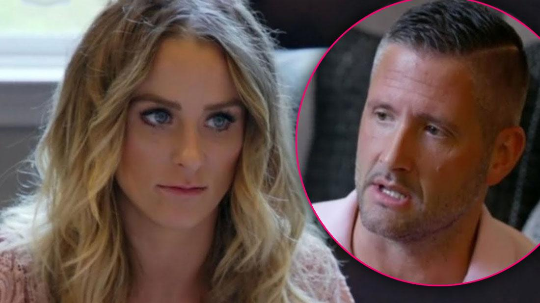 Leah Messer's 'Toxic' Ex Texted 'Non-Stop' & Showed Up To Her Home