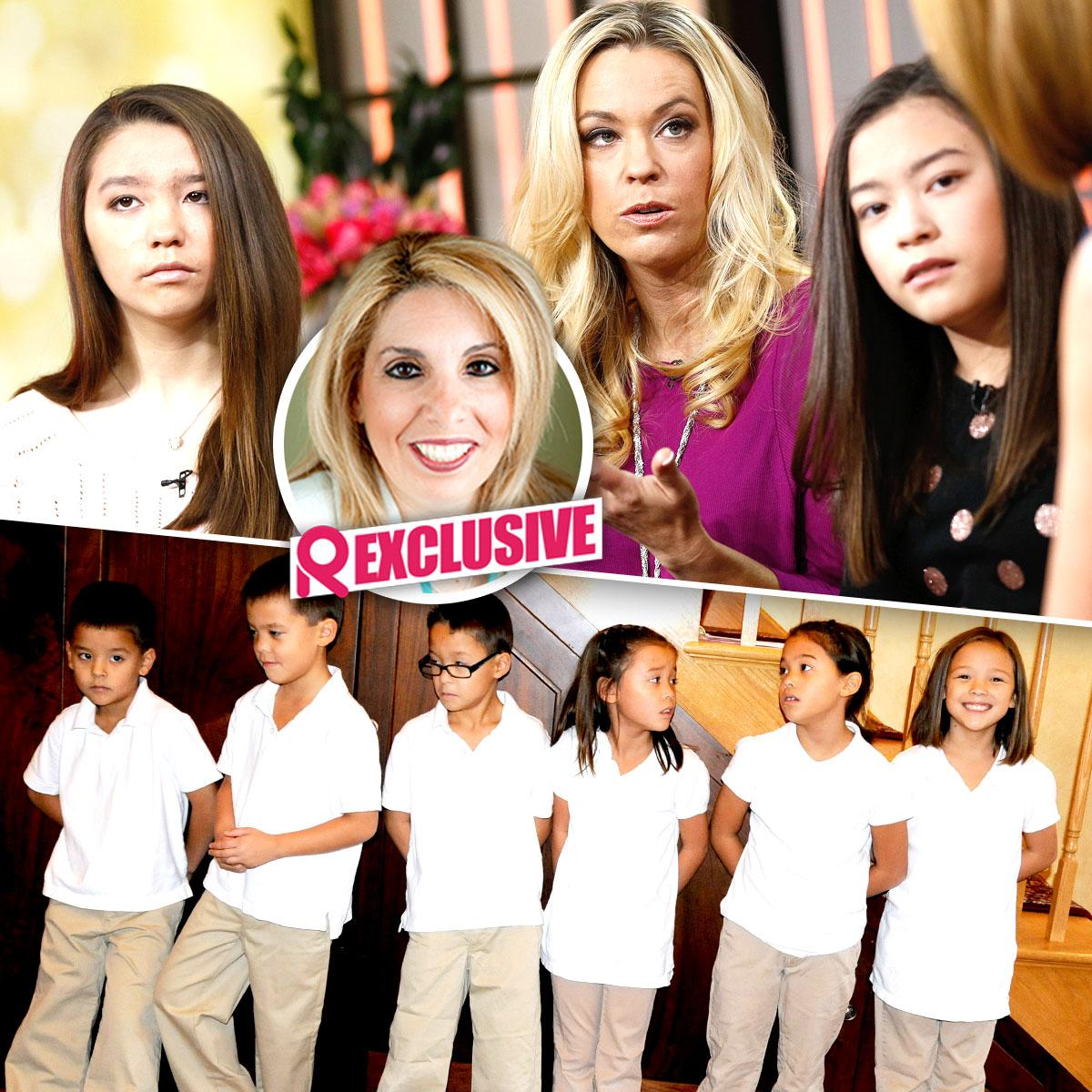 //kate gosselin dr sue cornbluth children tv affect emotional development sq
